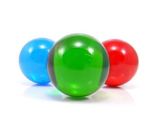 Цветной шар из акрила