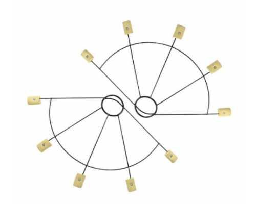 Веера KT (пара) из 5 лучей